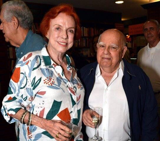 Lucy Barreto e Marcus Azambuja