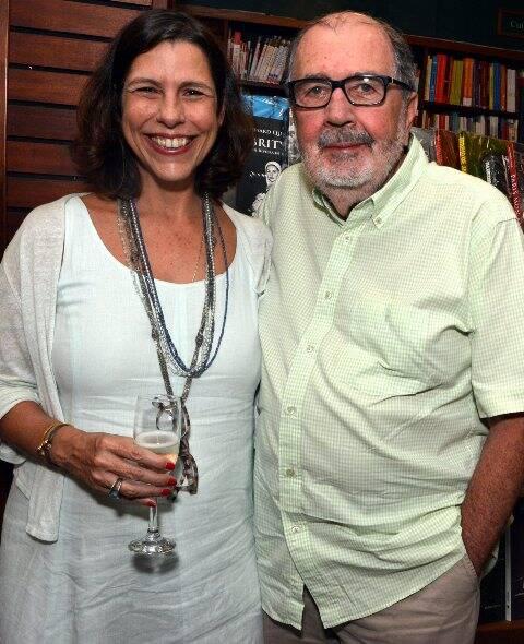 Renata de Almeida Magalhães e Cacá Diegues