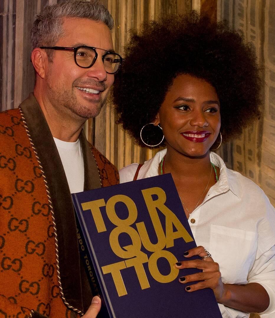Fernando Torquatto e Jessica Ellen /Foto: Mariana Vianna