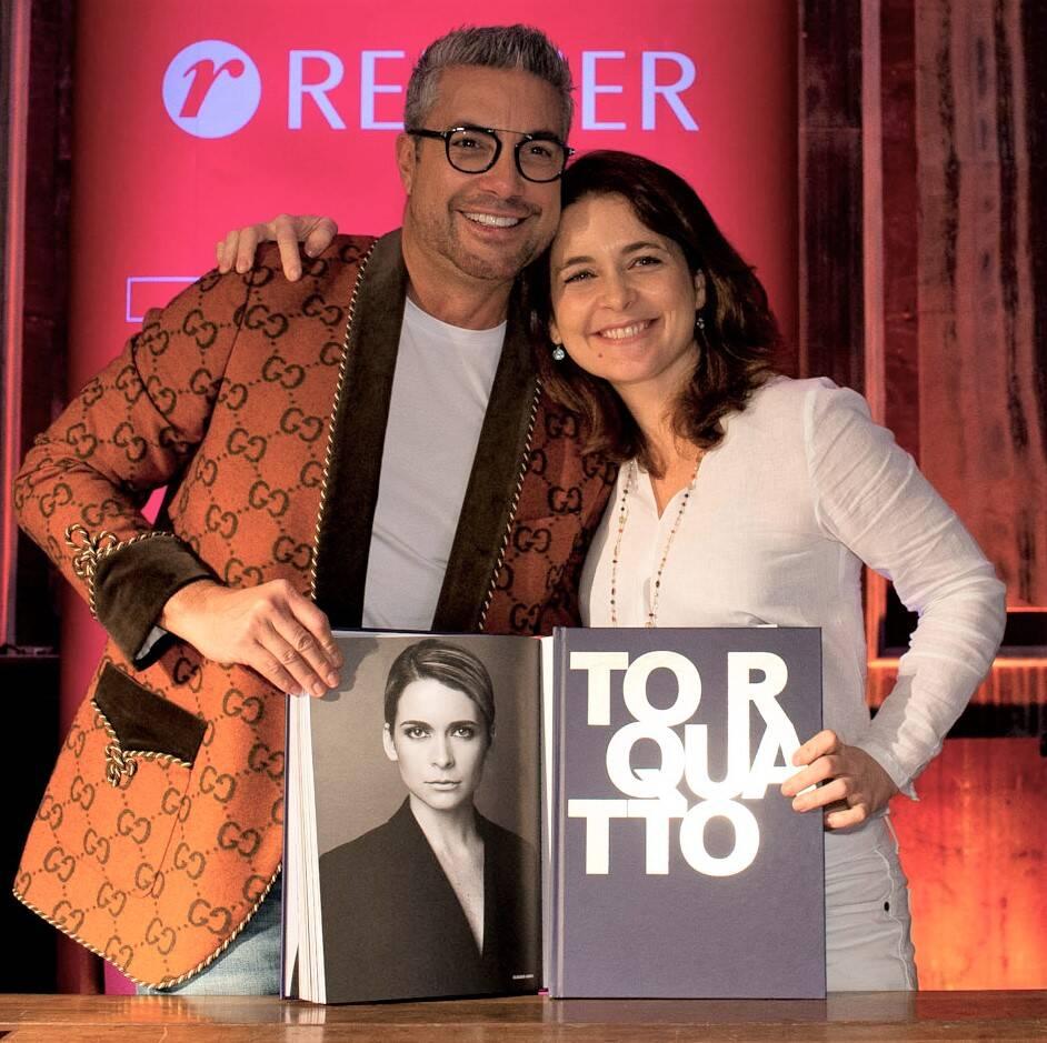 Fernando Torquatto e Claudia Abreu /Foto: Mariana Vianna