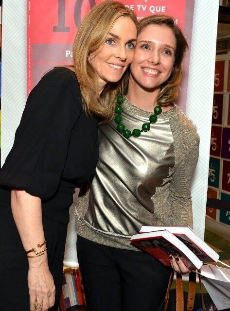 Patrícia Kogut e Melina Dalboni