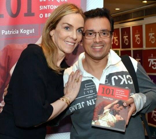 Patrícia Kogut e Rodrigo Fagundes