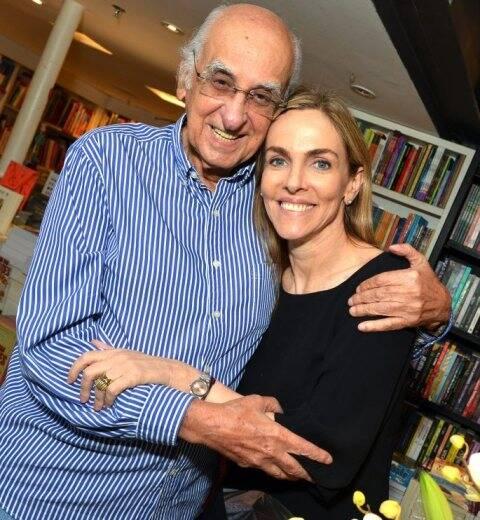 Zuenir Ventura e Patrícia Kogut