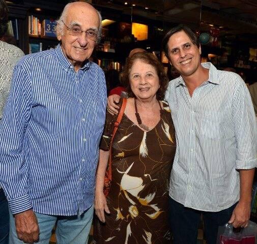 Zuenir, Mary e Mauro Ventura