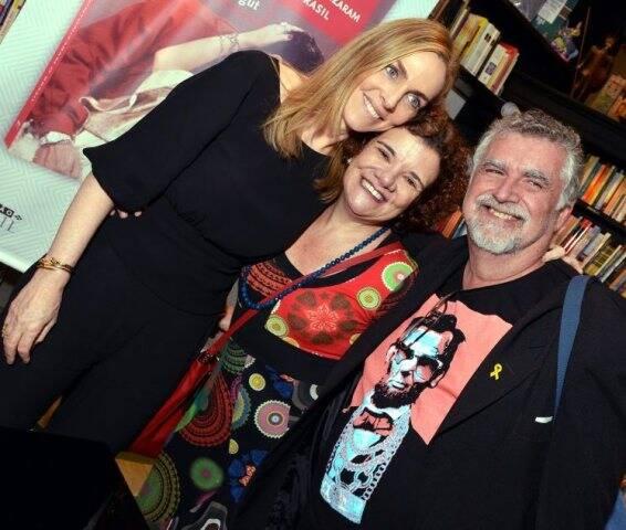 Patrícia Kogut, Thelma Alvarenga e Oscar Valporto