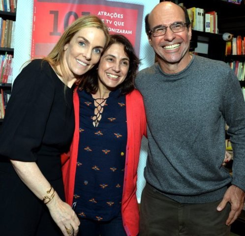 Patrícia Kogut, Anna Luisa Muller e George Moura