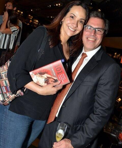 Maria Beltrão e Luciano Saldanha