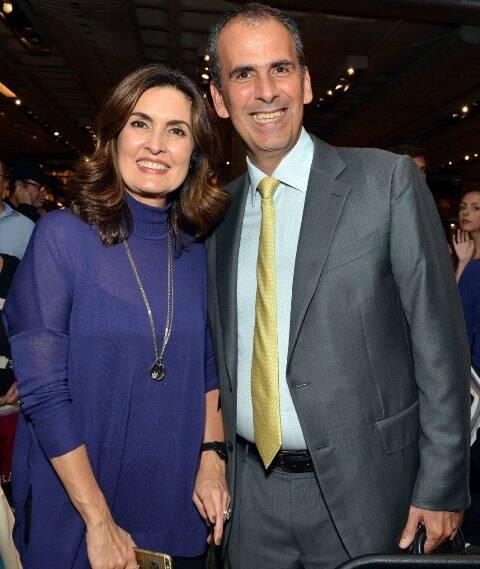 Fátima Bernardes e Marcos Pereira