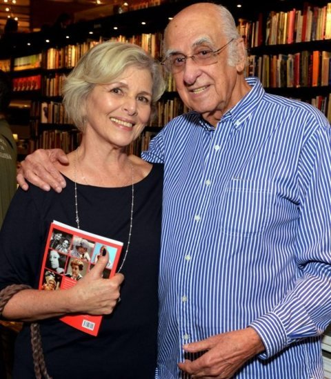 Irene Ravache e Zuenir Ventura