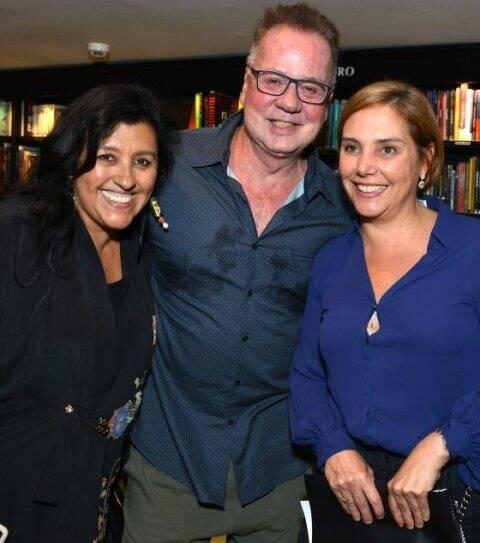 Regina Casé, Luiz Fernando Guimarães e Heloísa Perissé