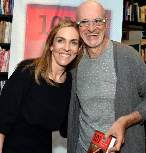 Patrícia Kogut e Marcos Caruso