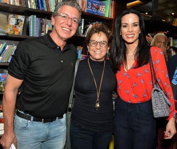 Boninho, Letícia Muhama e Ana Furtado