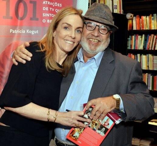Patrícia Kogut e Alceste Pinheiro