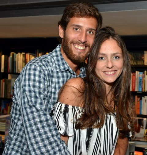 Marco Machado e Sofia Kogut