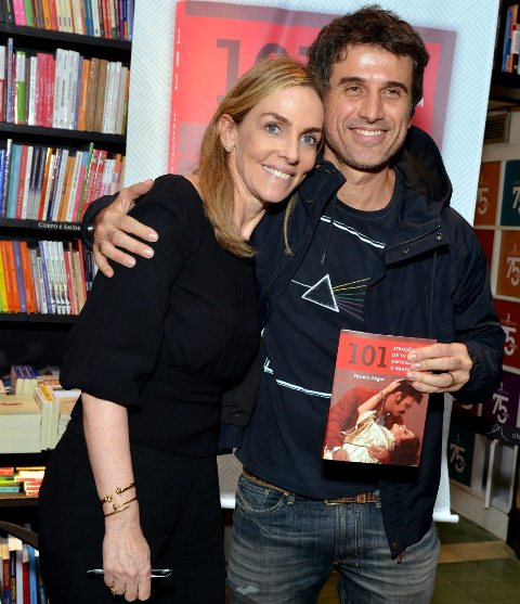 Patrícia Kogut e Egberto Leão