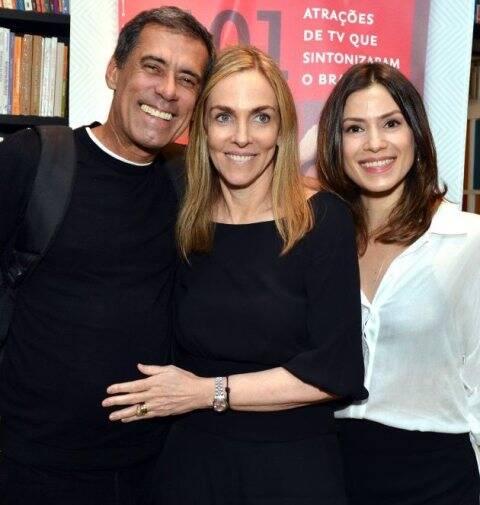 Cao Albuquerque, Patrícia Kogut e Alice Assef