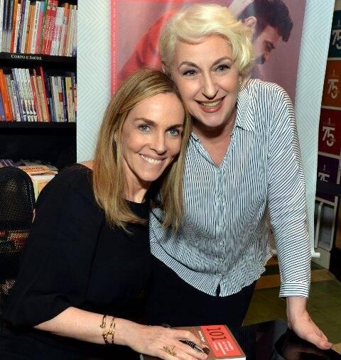 Patrícia Kogut e Lu Grimaldi