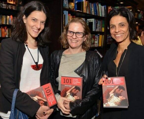 Cristina Fibe, Nani Rubim e Vanessa Cardoso