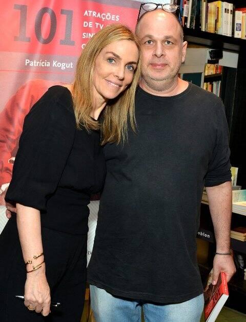 Patrícia Kogut e Arnaldo Bloch