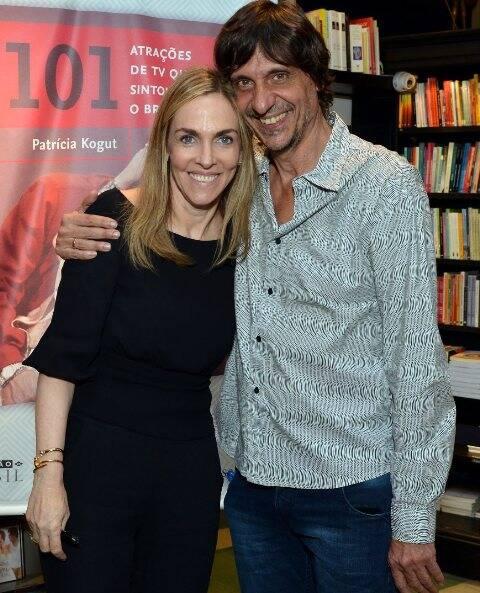 Patrícia Kogut e Eduardo Bueno Peninha