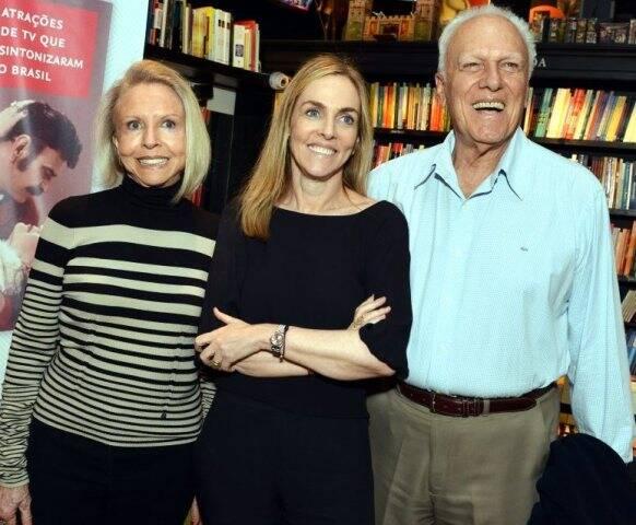 Dorothy, Patrícia e José Kogut