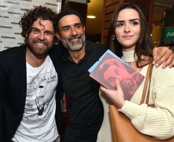 Línox, Marcos Pasquim e Aline Fernandez