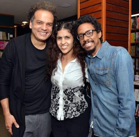 Zé Renato, Janaína Diniz e João Vianna