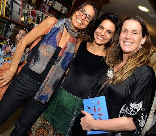 Flávia Santos, Vanessa Cardoso e Vanessa Loés