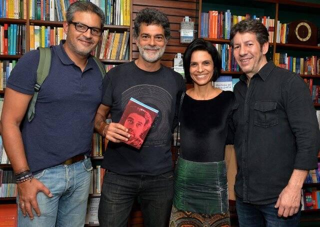 Bernardo Monteiro, Eduardo Moscóvis, Vanessa Cardoso  e Renê Machado