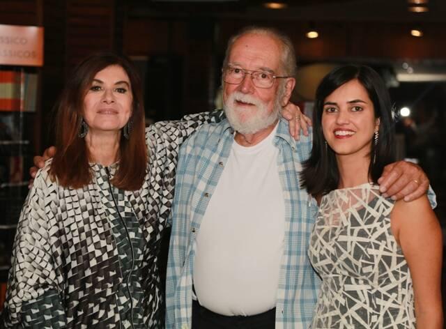 Luciana Fróes, Paulo Vilella e Renata Monti