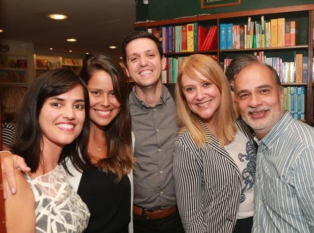 Renata Monti, Ana Paula Guimarães, Nelson Adão, Claudia Lobo e Sergio Abdon