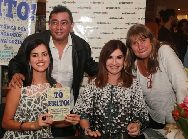 Renata Monti, Batista, Luciana Fróes e Laura Gasparian