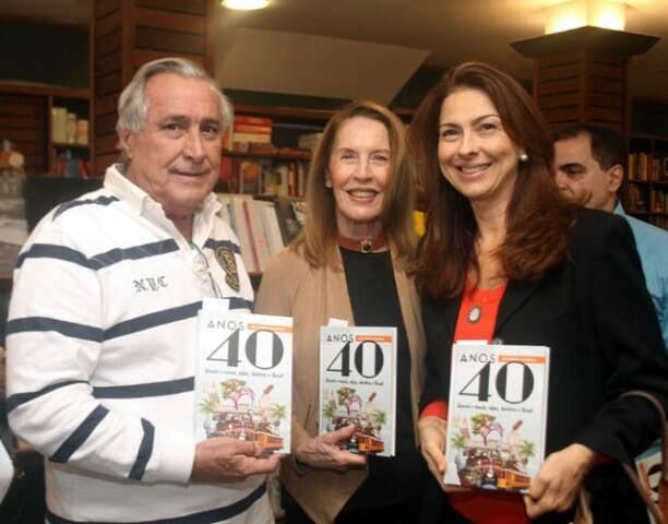 Leleco Barbosa, Mirtia Gallotti e Milene Peltier