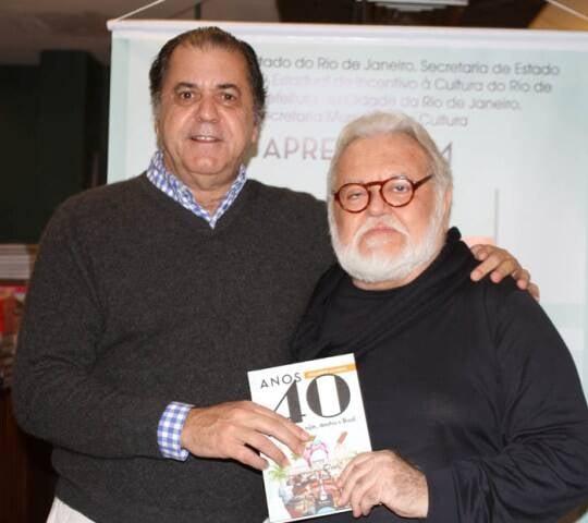 Omar Catito Peres e Ricardo Amaral