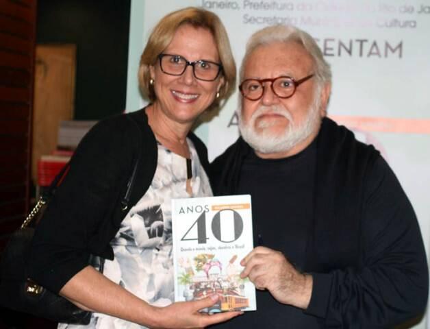 Sylvia Crivella e Ricardo Amaral