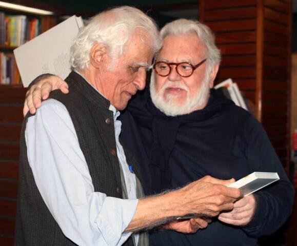 Ziraldo e Ricardo Amaral