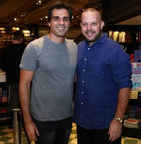 Pedro Cardoso e Ricardo Bräutigan