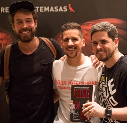 Raul Aragão, Caio Braz e Rony Meisler