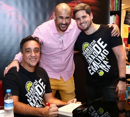 Sergio Pugliese, José Junior e Rony Meisler