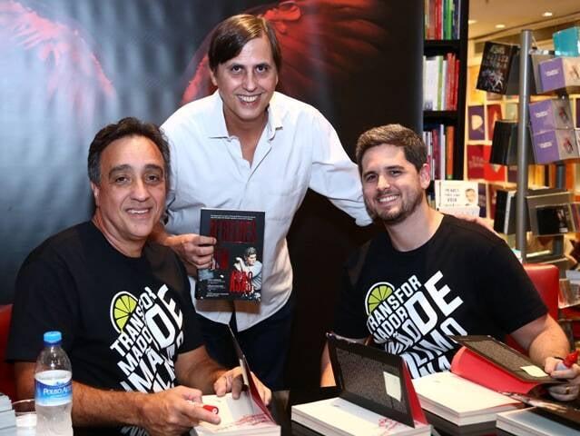 Sergio Pugliese, Mauro Ventura e Rony Meisler
