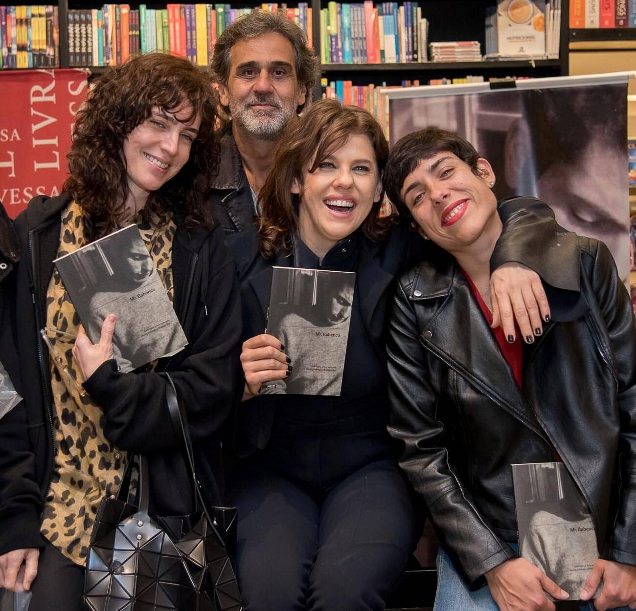 Bárbara Paz, Carolina Jabour, Julia Barreto e Marcos Prado / Foto: Ana Paula Amorim