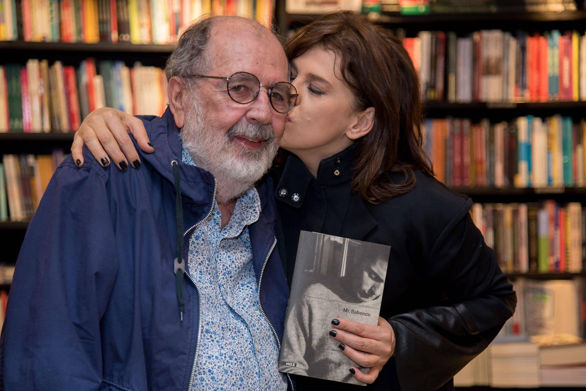 Cacá Diegues e Bárbara Paz /Foto: Ana Paula Amorim
