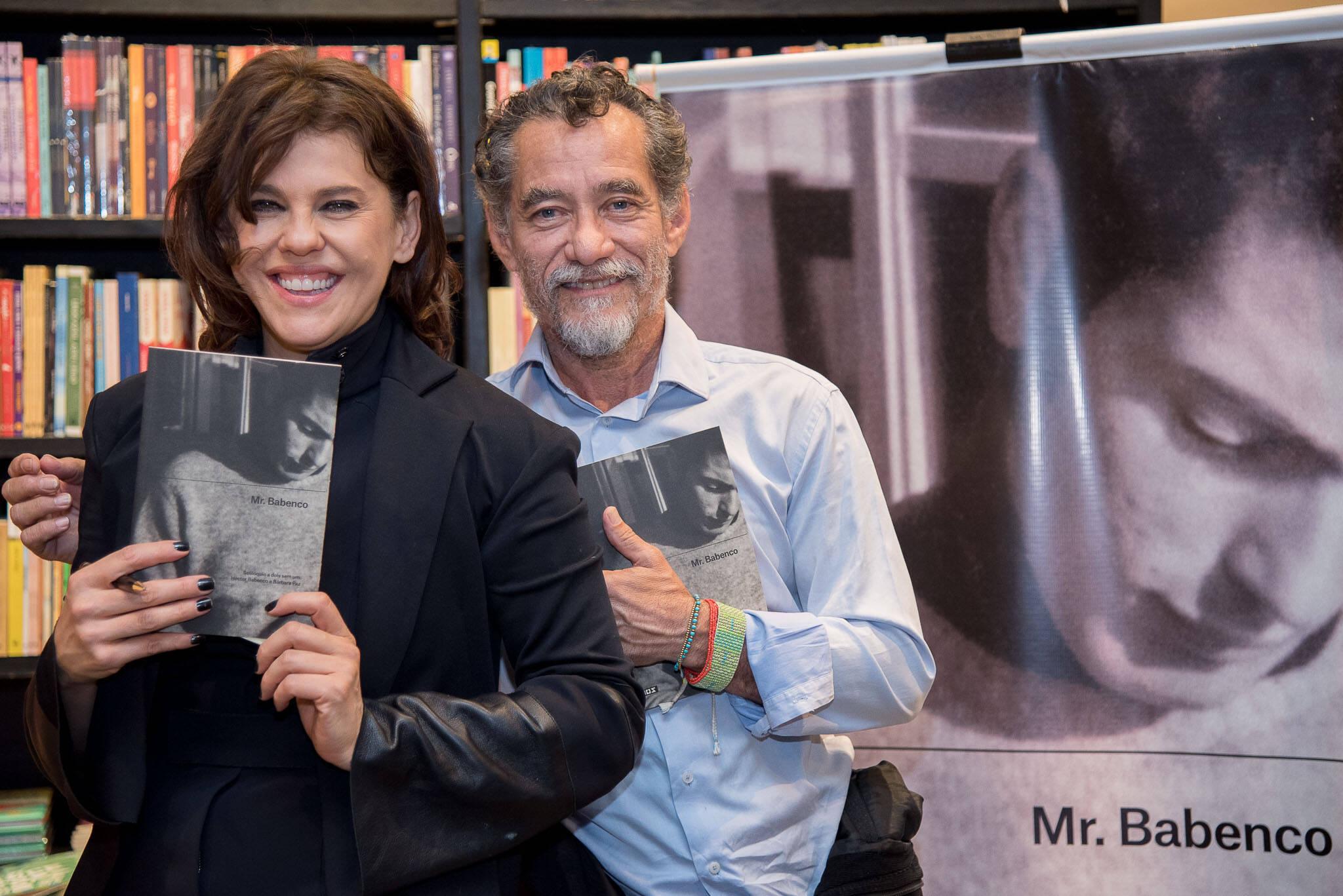 Bárbara Paz e Chico Diaz /Foto: Ana Paula Amorim