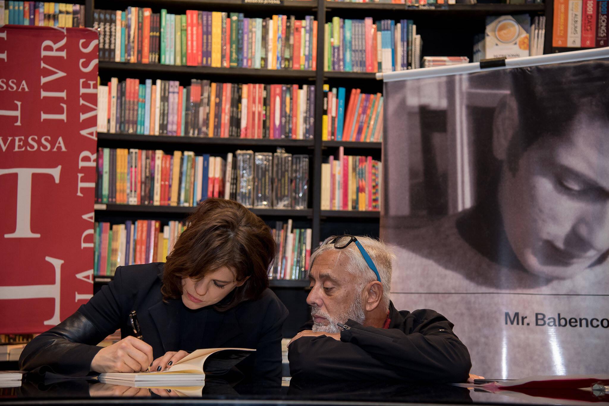 Bárbara Paz e Zeca Vitorino /Foto: Ana Paula Amorim