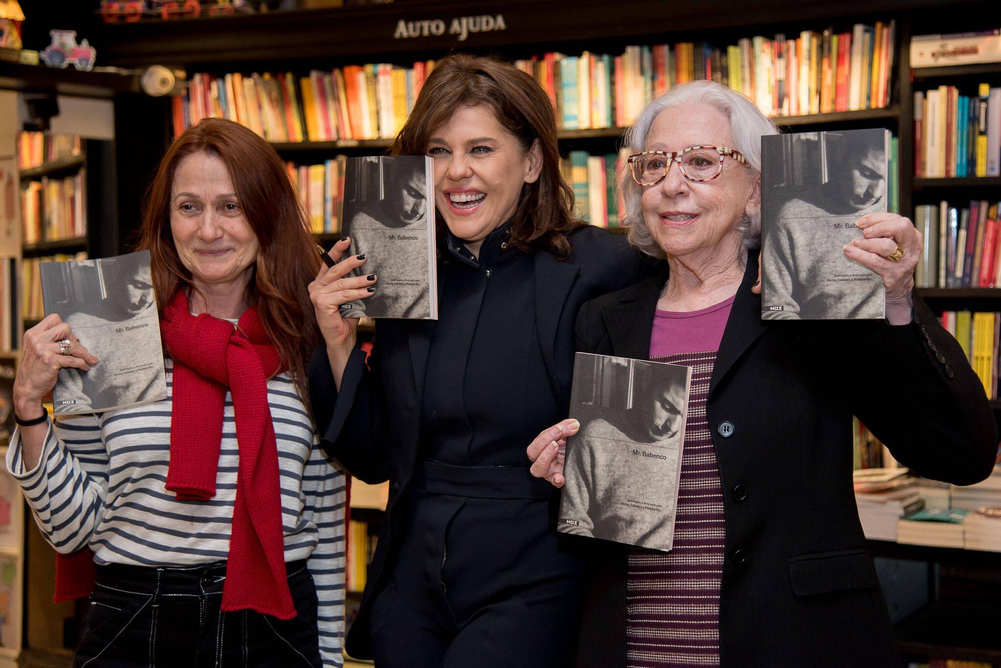 Zezé Polessa, Bárbara Paz e Fernanda Montenegro/ Foto: Ana Paula Amorim