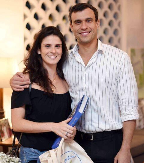 Ana Cacília Friedheim e Leonardo Rufino