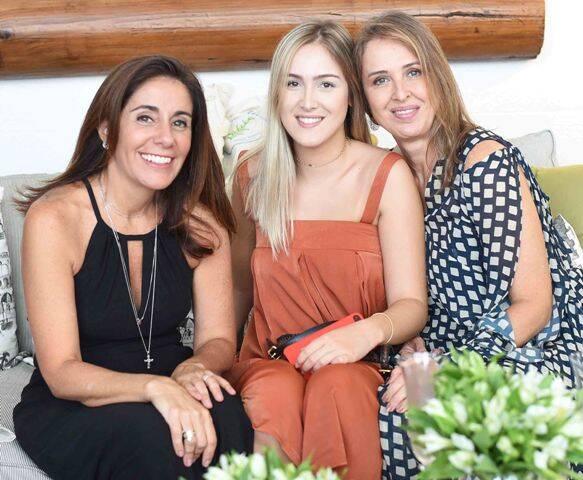 Ana Virgínia, Giulia Vaz e Patricia Vaz