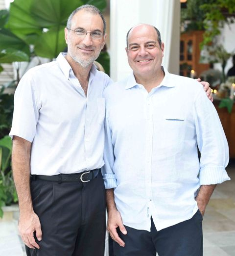 Carlos Chamma e Carlos Eduardo Ramos