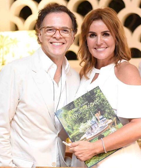 César Neubert e Eliane Teixeira