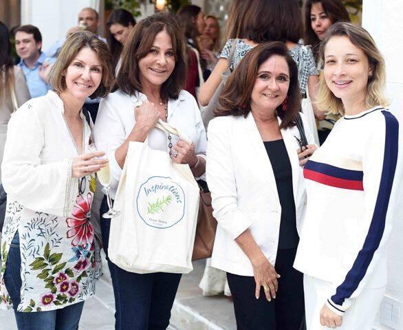 Cynthia Issa, Cristina Almeida, Ana Maria Andreazza e Juliana Barros